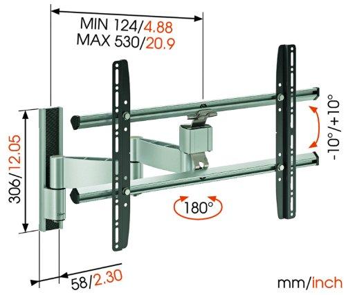 ... 81-165-cm-32-65-Zoll-Fernseher-drehbar-und-neigbar-max.-45-kg-silber-3